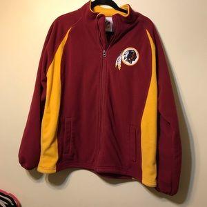 NFL med zip up Redskins